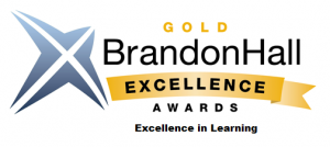 Brandon Hall Excellence in Learning Award